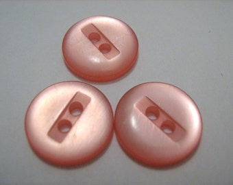 Pale Pink Vintage Buttons