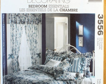 McCalls 3556 Bedroom Essentials Sewing Pattern