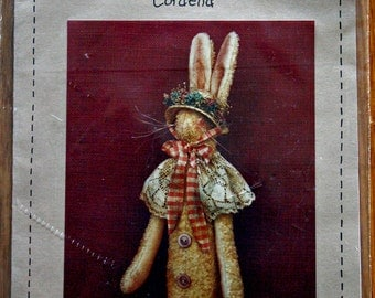 Stuffed Rabbit Cordelia Home Decorations Sewing Pattern