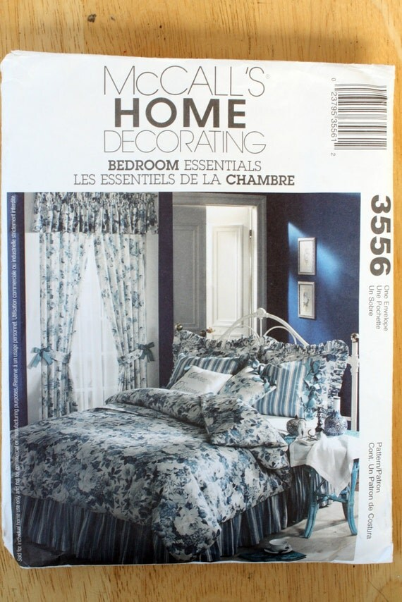 Mccalls 3556 bedroom essentials sewing pattern from for Bedroom necessities