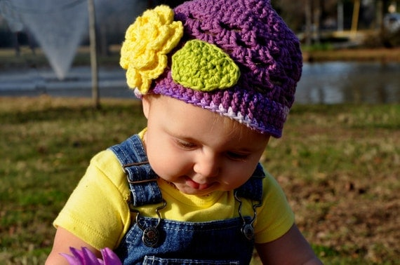 PDF Scalloped Cotton Beanie Crochet Pattern