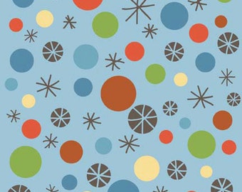 Scoot - Blue Dots by Deena Rutter for Riley Blake Designs