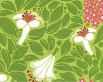 Lush - Grass Flower Garden by Patty Young for Michael Miller Fabrics