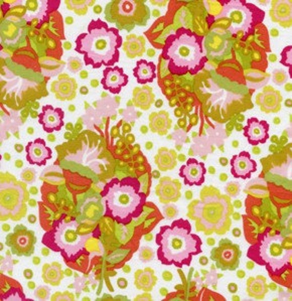 LITTLE FOLKS Voile--Baby Bouquet by Anna Maria Horner for Freespirit Fabrics-Last Yard