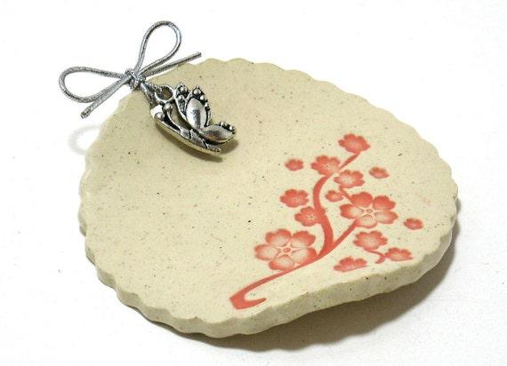 Cherry Blossom Tea Cozy - (OOAK Ceramic Tea Cozy)