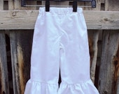 Ruffle Capris/Pants...You choose the Size and Color...Sizes Newborn to 4T