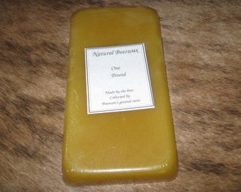 One Pound Pure Beeswax