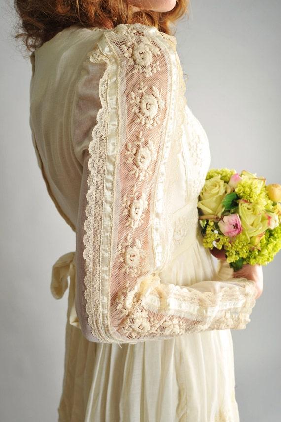 Reserved 1970s gunne sax wedding dress by for 70s style wedding dress