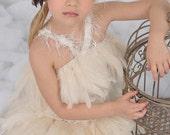 Ice Princess Girls Feather Skirt