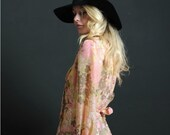 PrEtTy In PiNk PaInTeRLy FLoRaL NeCk TiE MiNi DrEsS NuMbEr