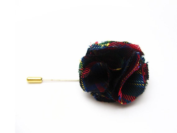 Lapel pin - Tartan stick pin - Limited edition
