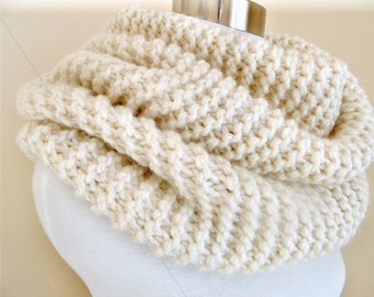 The Cream Super Soft and Chunky Knit Cowl