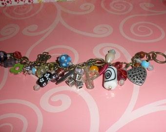 A little bit of Everything Charm Bracelet