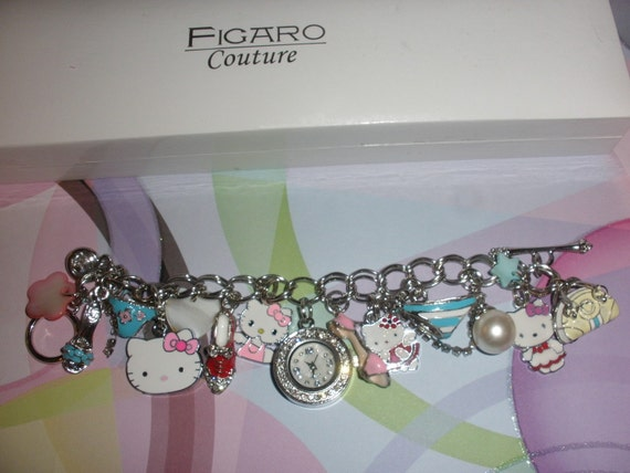 Hello Kitty Charm Bracelet Watch