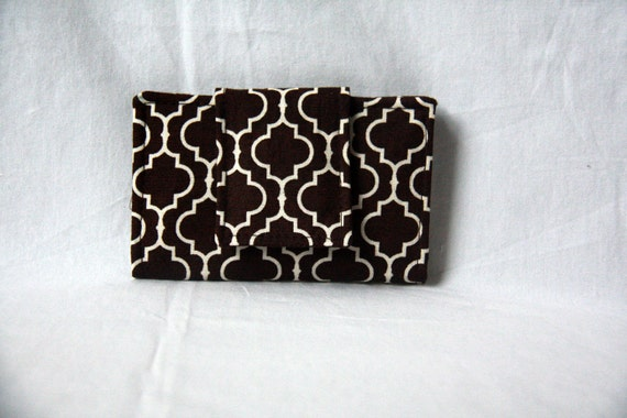 Brown Business Card Holder/Mini Wallet