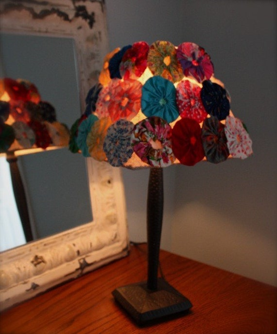 Sale fun vintage yoyo shade lamp for Funny lamps for sale