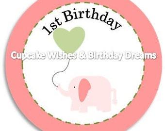 Sweet Baby Elephant Party Kit