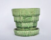 1950's McCoy Green Planter