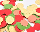 Confetti - Party Decor - Tropical Blossoms Circle - Punch-Outs - Birthday Decoration