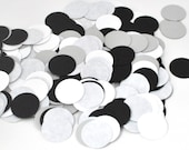 New Year's Party Circle Confetti - Circle Punch-Outs - Party Decor - Theme Party