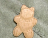 Woodcut  Whittled Teddy Bears  15-Ct