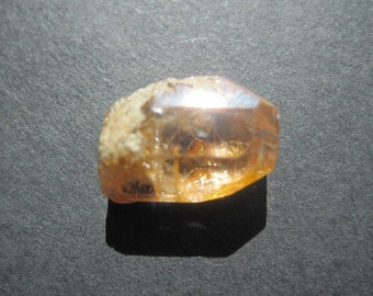 Golden topaz crystal- November birthstone- 10x14x6 mm