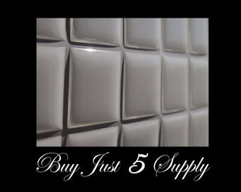 200 Epoxy Resin Stickers-Domes-Dots-Drops..1 Inch Squares...Fast and Easy..Peel and Stick..No Mess Pendants and Magnets