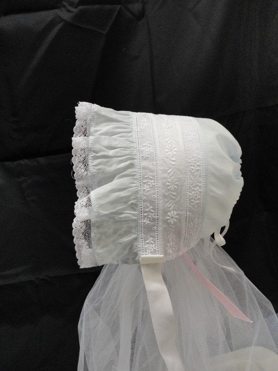 Heirloom Baby Bonnet B2