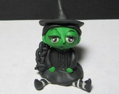 Elphaba the Wicked Witch of the West Mini Sculpture Figure