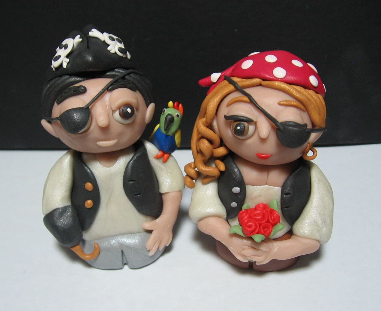 pirate wedding cake topper pirate wedding cake toppers and or sculpture figures 18622