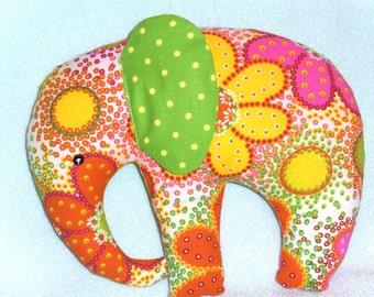 Stuffed Elephants , Adorable Fun Fabric