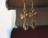 Golden Raindrop Earrings