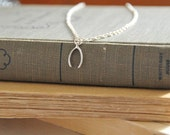 SALE - Wishbone Necklace