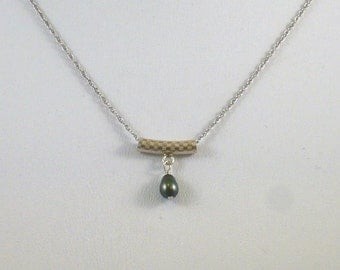 Drop of Moss necklace