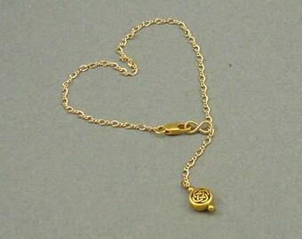Celtic Gold dangle bracelet 15% OFF