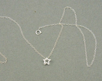 Sweet Starlight silver necklace