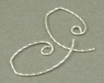 Twist Me Up silver earrings