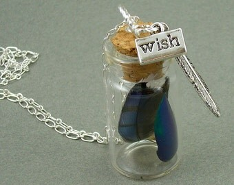 I WIsh I Could Fly necklace