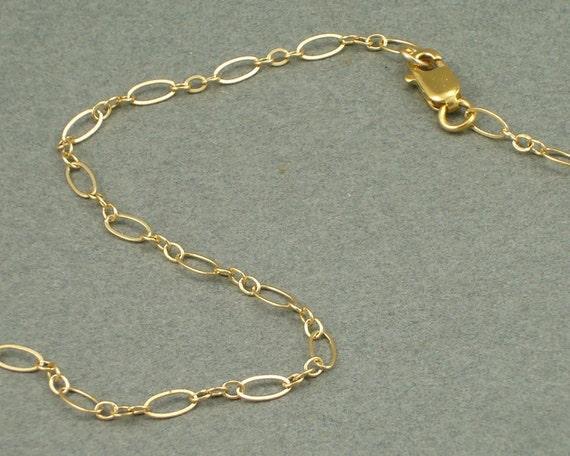 Elegance Gold Anklet