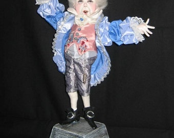 Cloth Doll Pattern Percival Ponce - by SFM Cloth dolls With Attitude