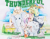 Thunderful NEW Children's Book.  Direct from the Illustrator, Personalized and Signed for your child.