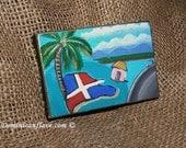 Mini Canvas Refrigerator Magnet