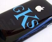 Small Monogram- iphone, ipod, laptop, cellphone, ipad
