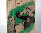 1952 French Book Romance Pocket Book - La rose qui tue - by Delly