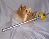 Where the Wild Things Are Max Scepter - Costume Accessories prop, Max Wolf Suit Crown and Scepter