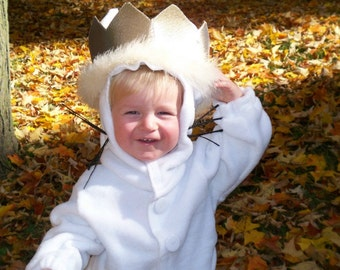 Max Costume Crown, Where the Wild Things Are Costumes, Max Wolf Suit, Custom Crowns for Toddlers Kids Babies, Birthday Crown, Photo Props