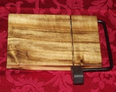 Myrtlewood Cheese Slicer Small Size 1