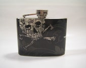 Skulls Flask 4oz