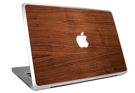 Macbook/Macbook Pro Wooden Skin - Natural Walnut
