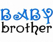 Digitizing Dolls BABY brother Machine Embroidery Design 4x4 5x7  INSTANT DOWNLOAD